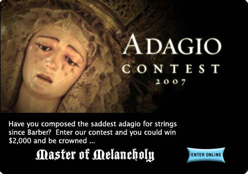 2007 Adagio Composition Contest