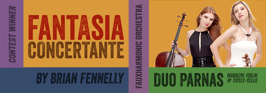 Fantasia Concertante, by Brian Fennelly